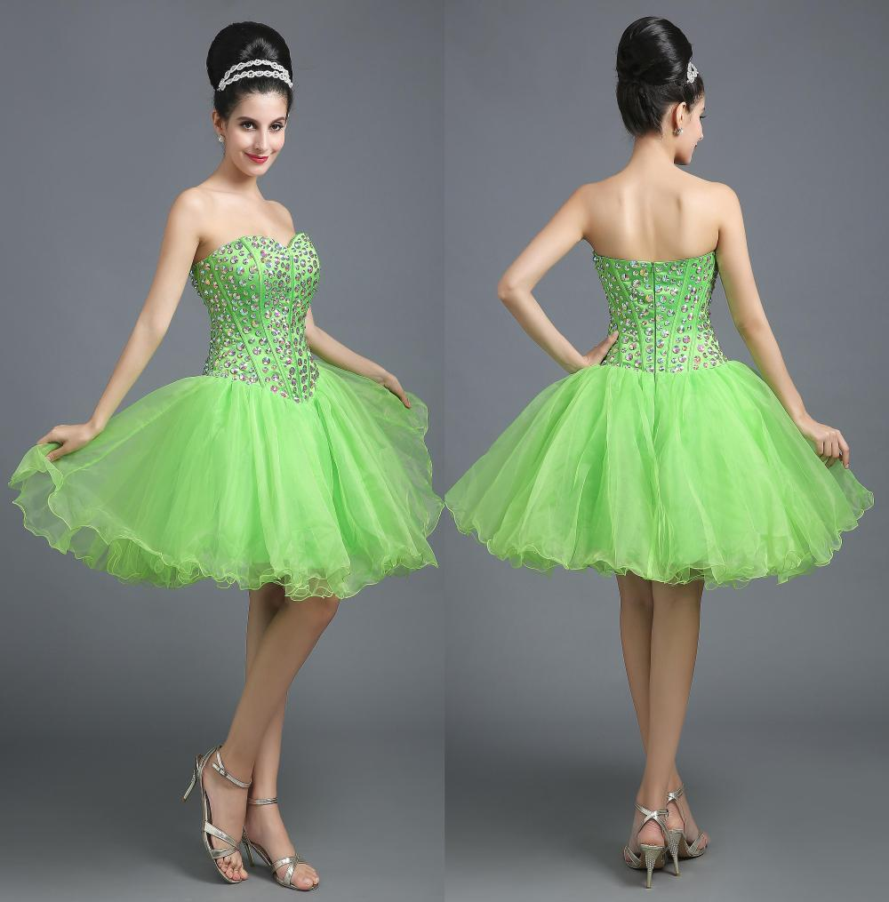 Online Buy Wholesale light green short tulle dress from China ...