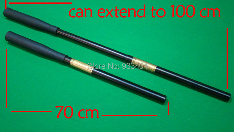 Free shipping 27.5 Inch can extend to 39 Inch snooker cue extension for snooker cues billiard snooker cue accessories(China (Mainland))