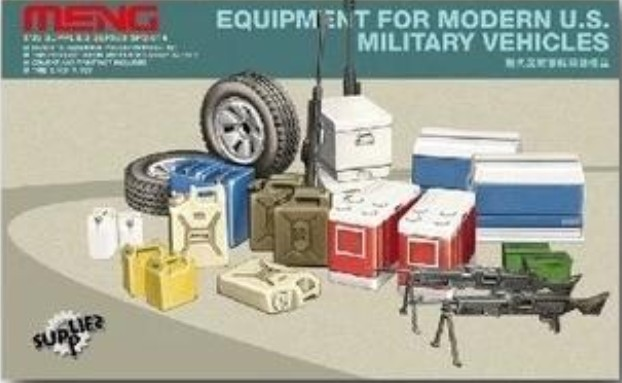 Meng Model 1/35 SPS-014 EQUIPMENT FOR MODERN U.S. MILITARY VEHICLES plastic model kit(China (Mainland))