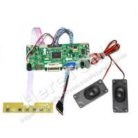 "(HDMI+DVI+VGA)LCD Driver Controller Board Kit for 10.1"" 13.3"" 14"" 15.6"" Screen+1 Pair Speaker"