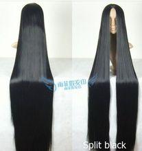 150 cm long straight wig black purple red white silver green BLUE font b Nature b