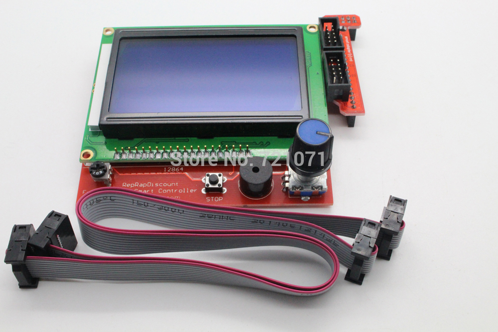 Mega 2560 R3 Mega2560 REV3 1pcs RAMPS 1 4 Controller RAMPS1 4 LCD 12864 LCD for