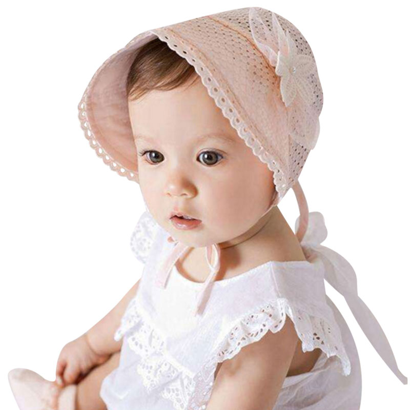 Cute Princess Children Hat Kids Girls Beanie Floral Caps Lace Baby Hat Summer(China (Mainland))