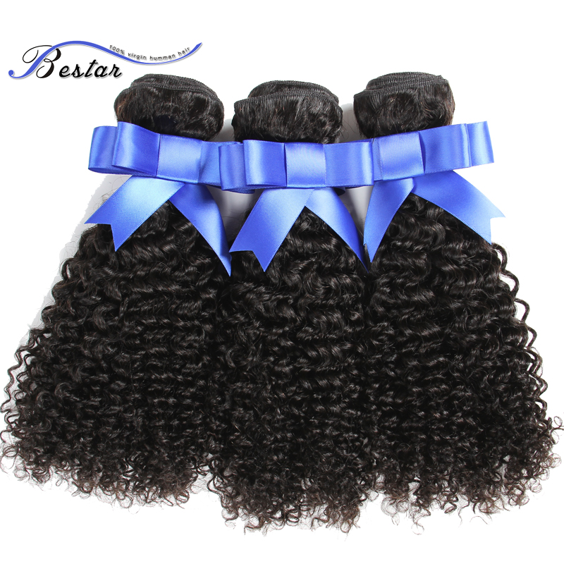 Unprocessed Mongolian Afro Kinky Curly Virgin Hair Weaving Cheap Human Hair Mongolian Virgin Hair Kinky Curly 3Pcs Natural Color