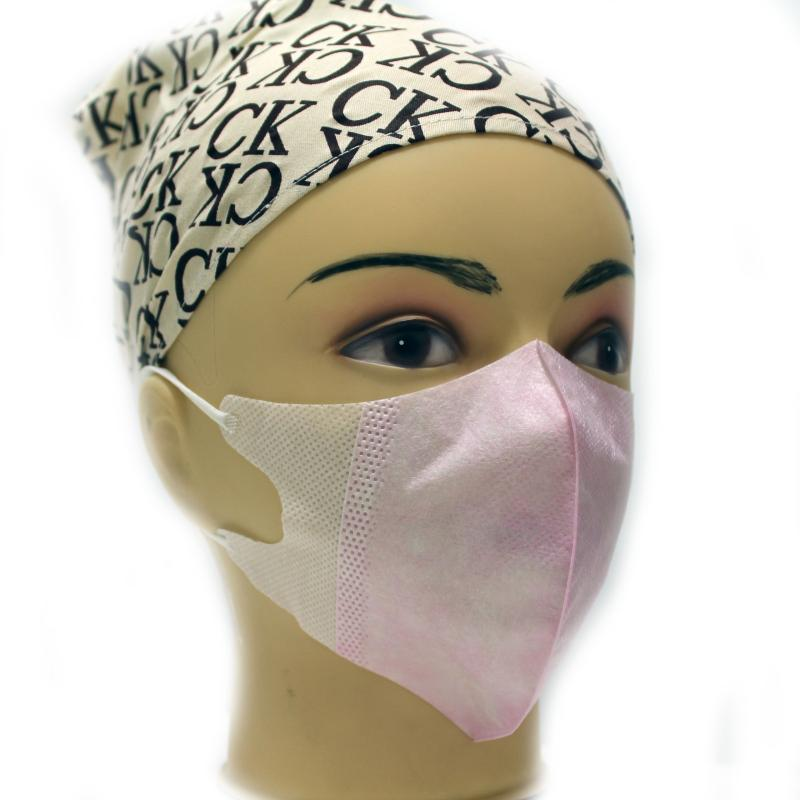 60 pcs 100%Medical non-woven Three-dimensional Disposable Face Mask Doctor Medical Face Mask for Anti Flu/Dust/Germs(China (Mainland))