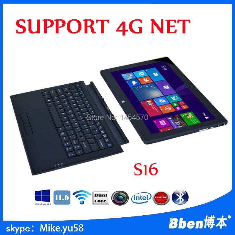 11 6 IPS China S16 4GB 128GB Windows 8 1 Intel i3 i5 Bluetooth4 0 Dual