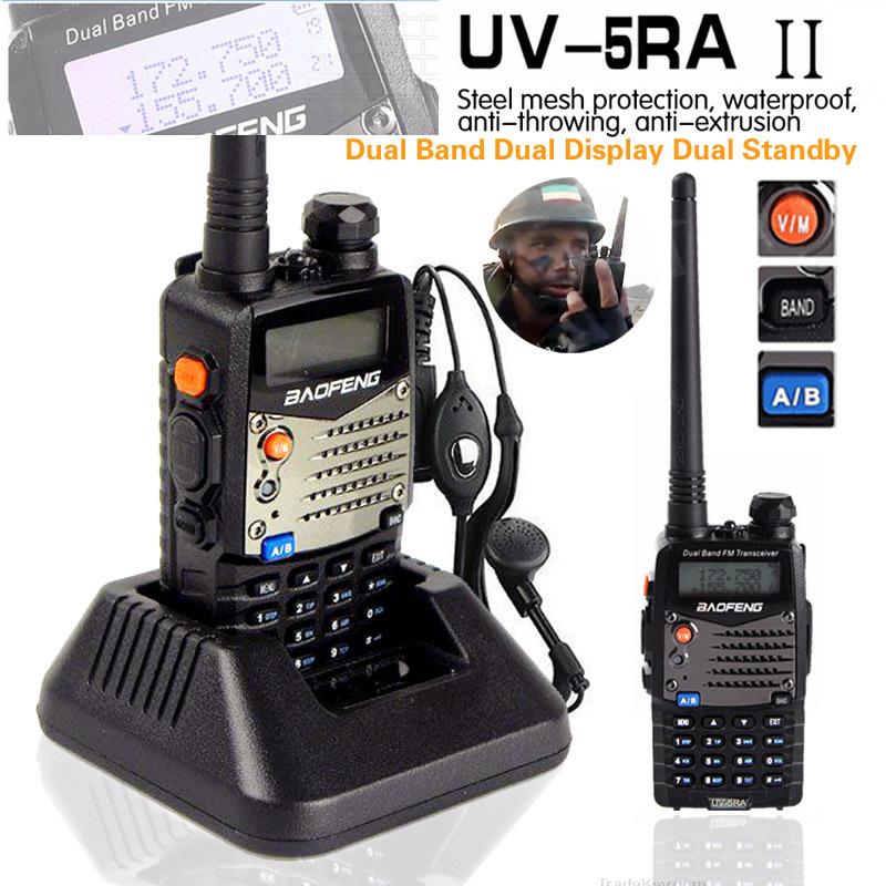 Bao Feng BAOFENG 5RA Interphone uv5RA 128CH 136/174 UHF 400/470 FM BF-UV-5RA паяльник bao workers in taiwan pd 372 25mm