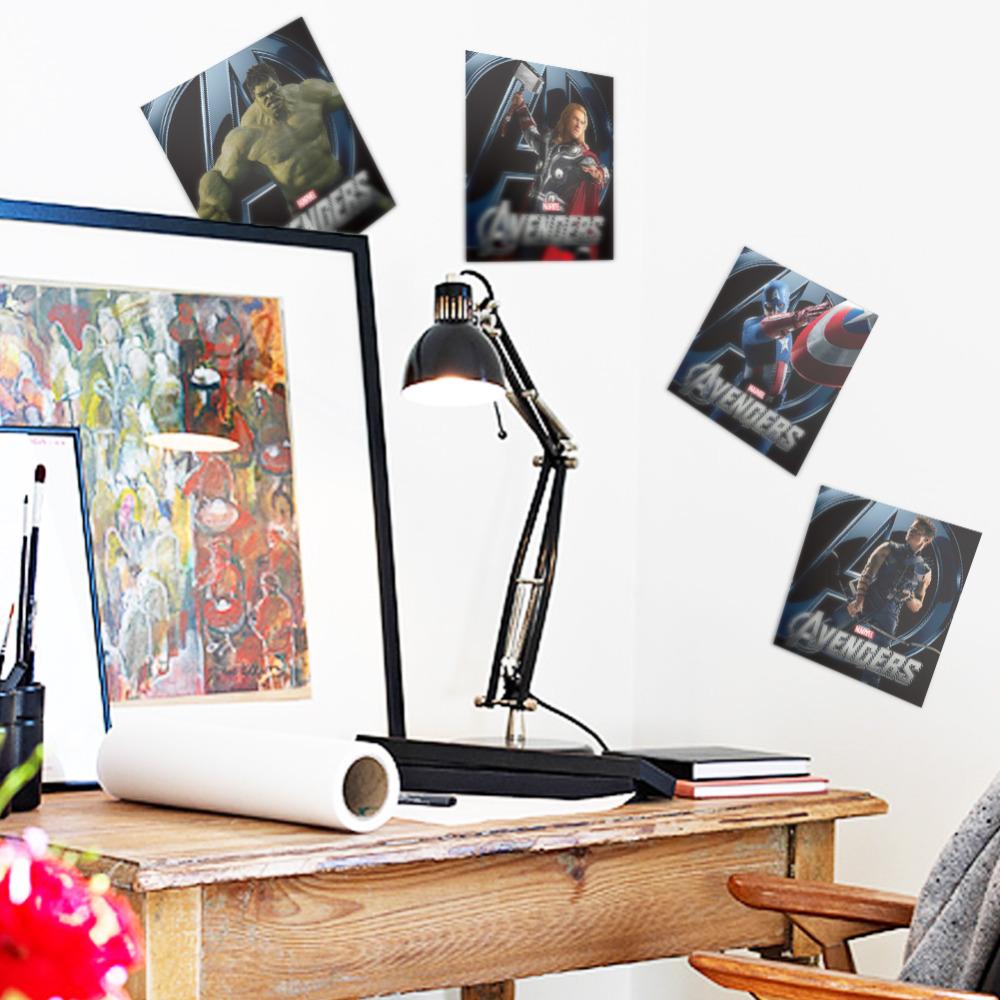 Comavengers Kids Room : Hero Figures Avengers Hulk Peel Vinyl Wall Stickers For Kids Room ...