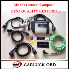 High Quality Full Chip PCB MB Star sd C4 Multi-Languages for CAR and TRUCK Powerful Function mb sd connect compact 4 DHL free(China (Mainland))