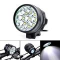 1200 לומן סופר מבריק CREE XML T6 LED אור אופניים פנס, עמיד למים 3 מצב פנס אופניים, משלוח חינם