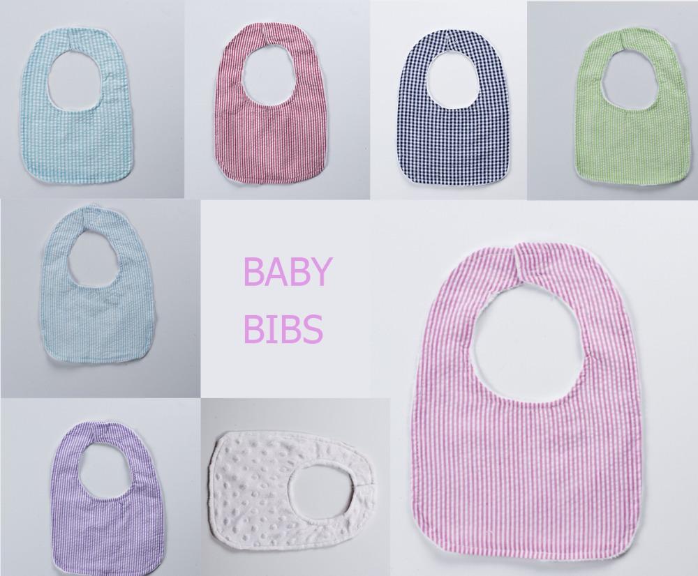 Wholesale Double Gauze seersucker minky Baby Bib newborn Waterproof Infant Bibs Baby Spitting up&amp;Regurgitate Milk Towel <br><br>Aliexpress
