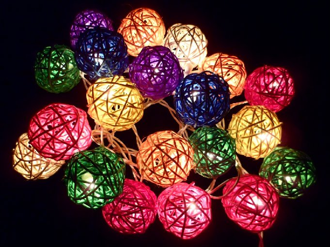Colored Patio String Lights : 20pcs-Multi-Color-Handmade-Rattan-Balls-String-Lights-Party-Wedding-Patio-Decor.jpg