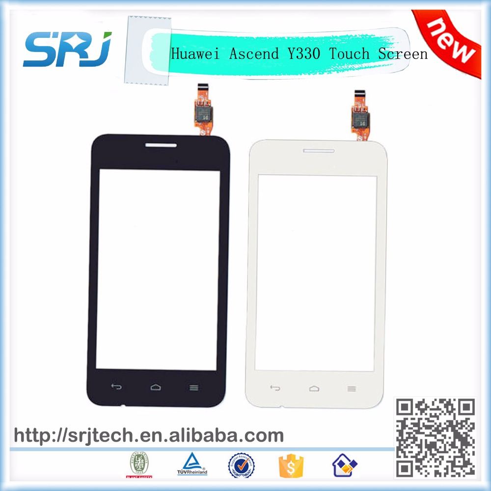 4 Inch For HUAWEI Ascend Y330 Touch Screen Digitizer Sensor Glass Replacement Parts Smart Phone Panel+Tracking Number(China (Mainland))