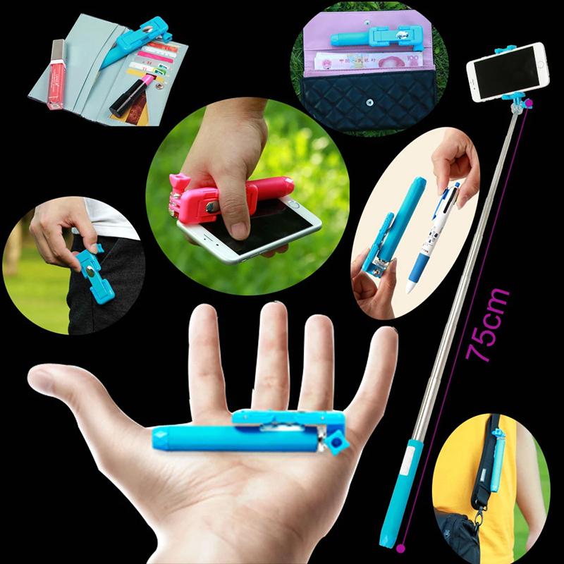 Baiy Hot supreme mini II pen size gift selfie stick shocks the market on sale(China (Mainland))
