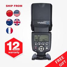 Buy Yongnuo YN560IV YN560 IV YN-560IV Master Slave Radio Flash Speedlight Built Radio Trigger Flash Canon Nikon Camera for $72.96 in AliExpress store