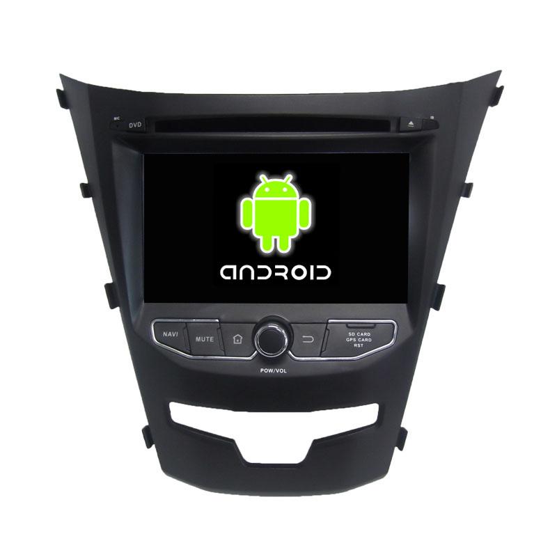 ROM 16G Quad Core 1024*600 Android 5.1.1 Fit SsangYong Korando 2014 2015 Car DVD Player Navigation GPS Radio(China (Mainland))