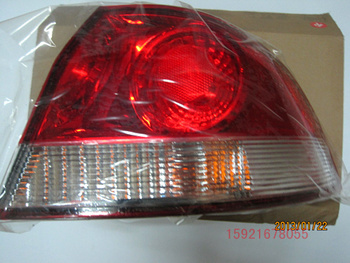 Car lamp luggage fender after the rear light lamp tail light