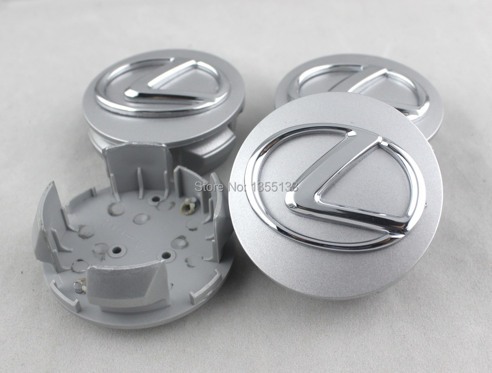 63mm chrome Lexus wheel center cap IS300 RX300 RX330 RX350(China (Mainland))