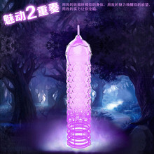 3pcs Soft Flexible Silicone Reusable Spike Condom Ultra Thin Toy Dotted Ribbed -no Sex Pill Delay Condoms(China (Mainland))