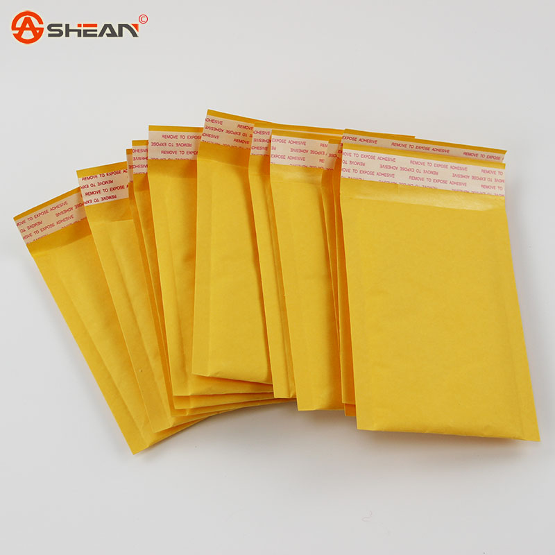 (110*150mm) 10pcs/lots Bubble Mailers Padded Envelopes Packaging Shipping Bags Kraft Bubble Mailing Envelope Bags(China (Mainland))