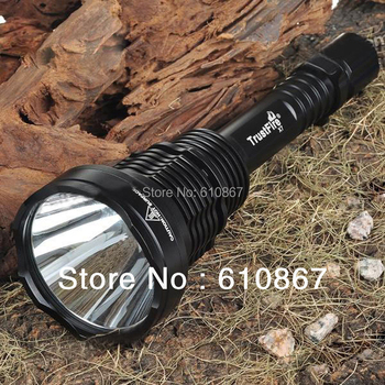 Free Shipping,1pc TrustFire X7 tactical flashlight,5 modes,1300Lumens,SST-50 LED hiking camping  torch, by 2/3x 18650 battery.