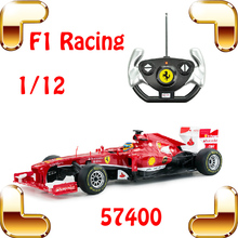 Free Shipping Rastar 57400 1/12 F1 RC Racing Car Speed Match Drive Formula Drift Car Remote Control Big Vehicle Model Toy Gift