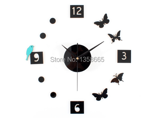 Настенные часы OEM DIY 3D relogio cozinha oem diy needlwork 70x55cm