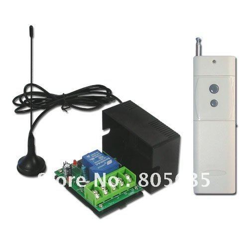 1CH 12V DC/30A High Power /2000M Long Range /RF Remote Control System-Transmitter Receiver Wireless Switch Momentary Latched