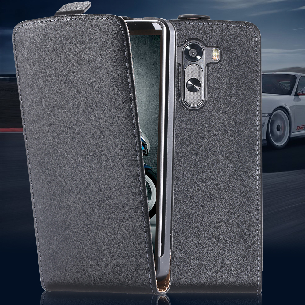 Vintage Korea Style Genuine Leather Case For LG G3 D857 D858 D859 Ultra Thin Flip Mobile Phone Protective Cover For LG G3(China (Mainland))