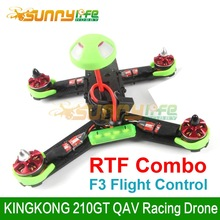 KINGKONG 210GT Multicopter FPV QAV Racing Drone RTF Combo Ready to Fly with FS-I6 Controller and F3 Flight Control