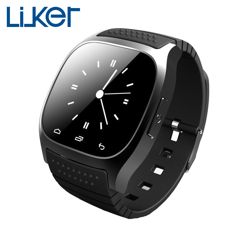 Cheap bluetooth smart watch Android With Pedometer Sync Phone smart wristwatch For Samsung Xiaomi watch phone(China (Mainland))