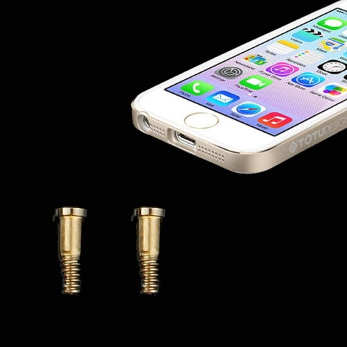 High Quality Dock Screws for iPhone 5/5S Pack of 20 (Gold)