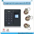 DIY D1 Fingerprint password 125KHZ RFID 3 in 1 Special fire door access control system 10pcs