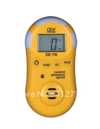 CO-110 Carbon Monoxide Meters<br>