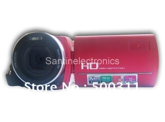 NEW Anti Shake 16 MP Pixel 3.0 inch TFT Rotation 8x Digital zoom HD Digital Video Camcorder DV Camera((DV-998))