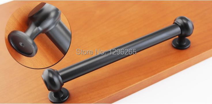 160mm black big door pulls kitchen furniture hardware dresser handles free shipping()