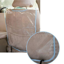New Useful Car Auto Seat Back Protector Cover for Children Babies Kick Mat Protects from Keep Clean(China (Mainland))