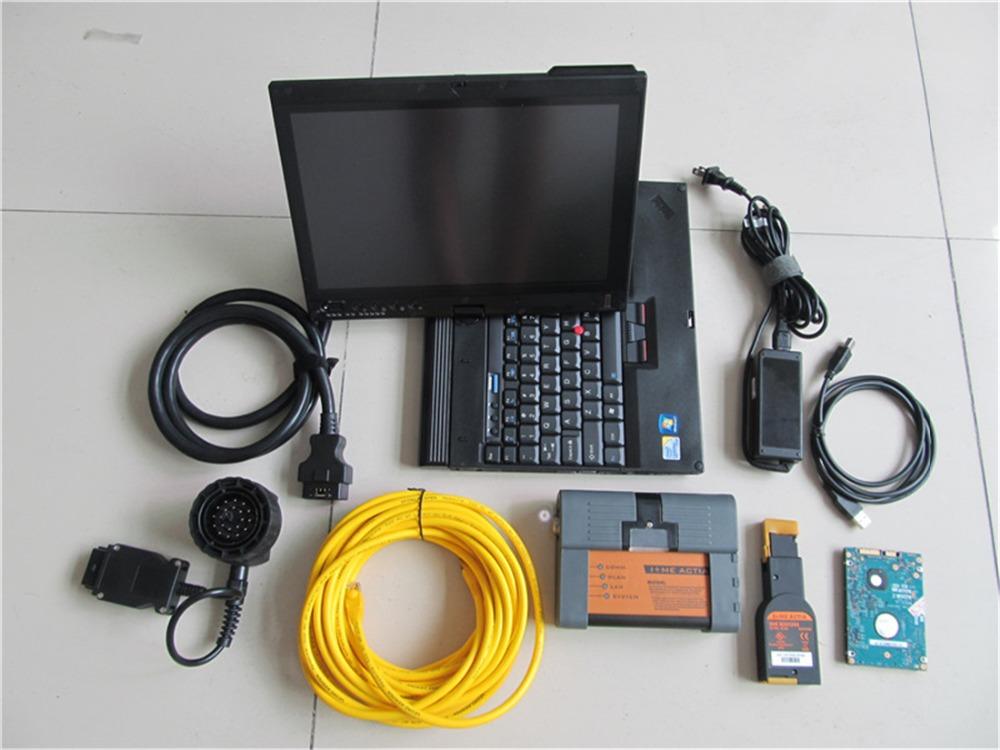 full set for bmw icom a2 diagnostic tool with laptop x200. Black Bedroom Furniture Sets. Home Design Ideas