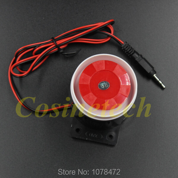 Hot selling Piping loud police siren,Mini Wired Siren For Wireless wired Home Alarm Security Systems <br><br>Aliexpress