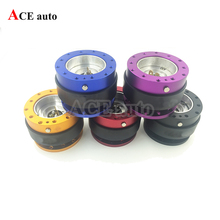ACE-Hight quality Universal  Steering Wheel Quick Release Kit with Button Modified Aluminum alloy(China (Mainland))