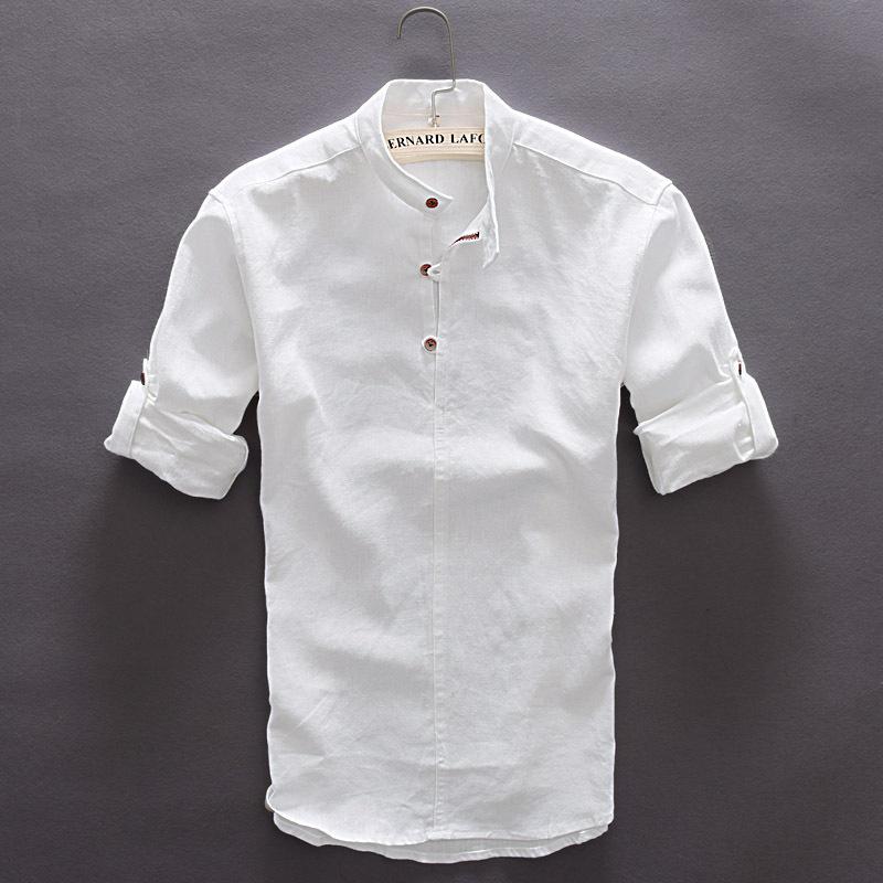High Quality Mens Slim Linen Shirt-Buy Cheap Mens Slim Linen Shirt ...