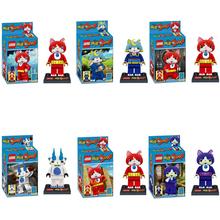 Yokai Watch block Minifigures Japan Anime Yo-kai Watch Baby Buildind Block Classic Toys Free shipping