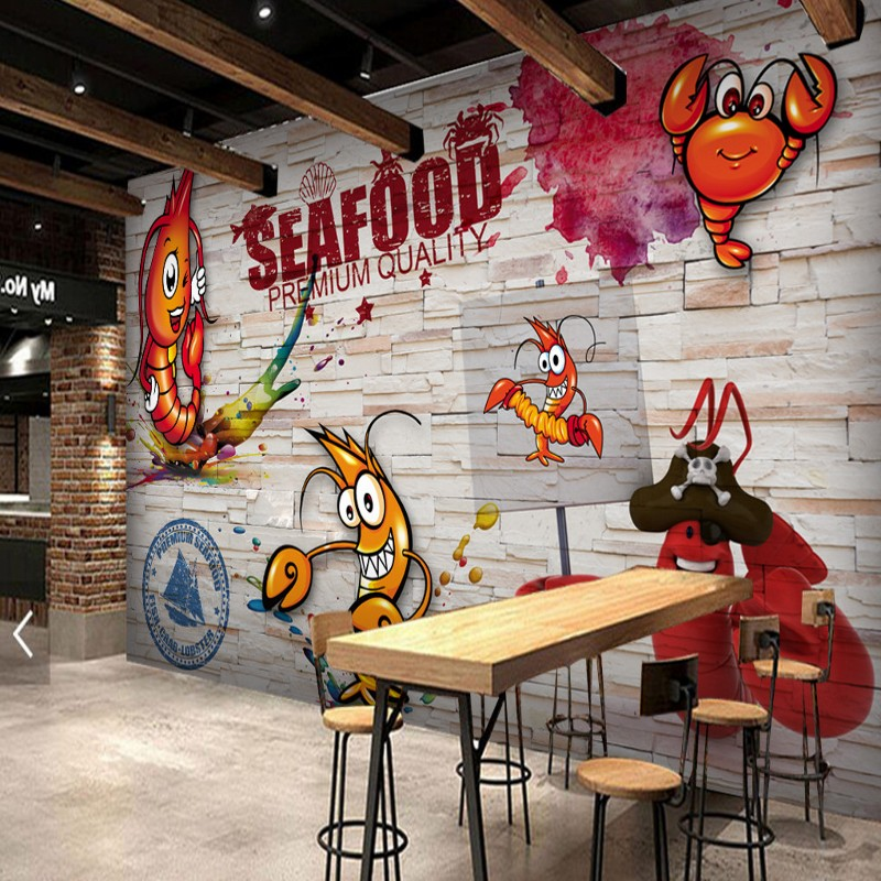 Popular seafood restaurant decor buy cheap