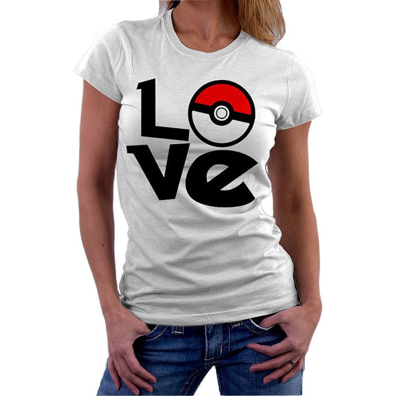 font b Pokemon b font font b Go b font T Shirt Women Birthday Present