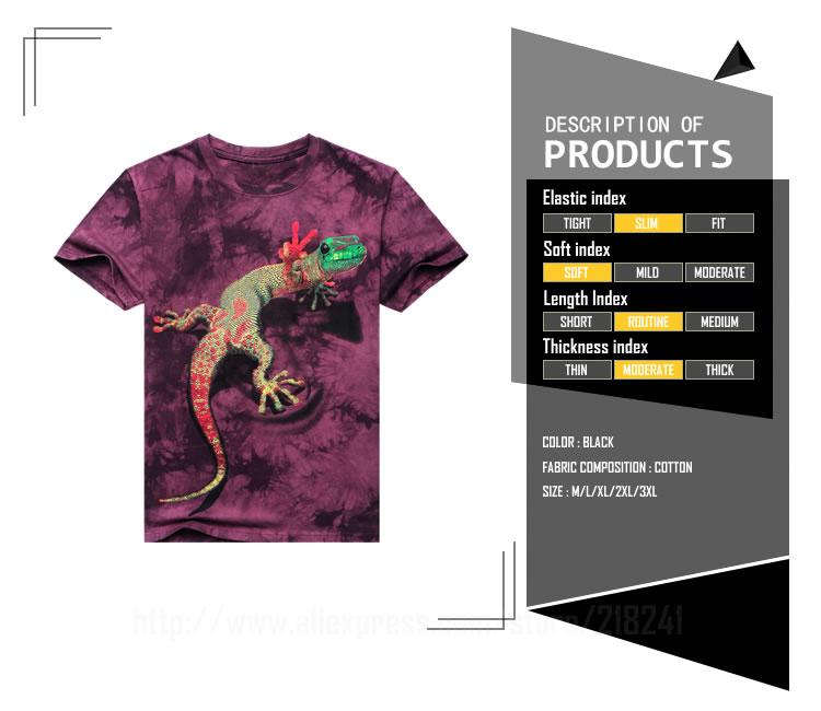 HTB1YzgEJXXXXXaqXVXXq6xXFXXXg - 2017 Men 3D T Shirt Animal Short Sleeves Cotton O-Neck Tiedye Personalized T-Shirt Water Printed Tee Shirts T-Shirts Clothes A8