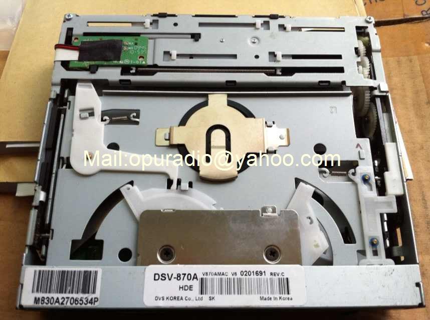 Brand new Korea DVS DSV-870A DSV-870 DVD Mechanism for Hyundai Tucson Hyundai Santa fe Car DVD navigation mechanism Car Audio(China (Mainland))