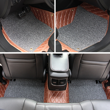 Car Floor Mats Car Special Floor Mat Black Beige Wine Red Brown for Infiniti G37 G25 2012 2013(China (Mainland))