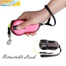 Free shipping Dog Leash Pet Leash Automatic Retractable Leash 3M Ellipse Design 2 Color for puppy