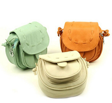 Women Messenger Bags Candy Color Cross Body Bags Casual Mini Sling PU Ladies Bag Small Mini Leather Mobile Phone Bag 2015(China (Mainland))
