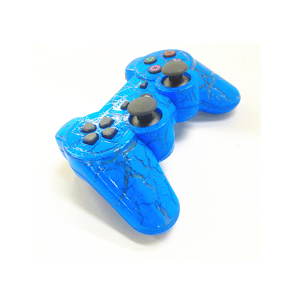 The Crack Blue Wireless Bluetooth Game Controller SIXAXIS Joysticks Gamepads Controller Compateble For Playstation 3 controller(China (Mainland))